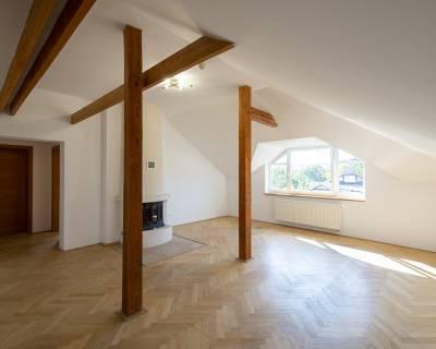 Krásny 4i podkrovný priestor, 165 m2, nezariadený, Staré Mesto