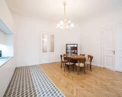 Priestranný 4i byt, 155 m2, nezariadený, vhodný aj na office