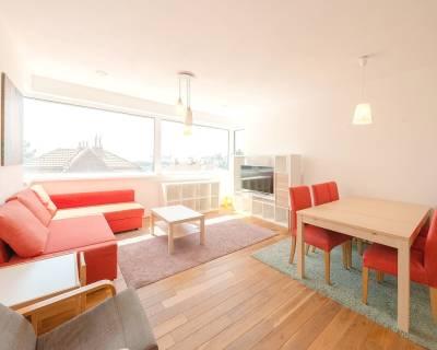Nadštandardný 4i byt, 124 m2, vo vile, parkovanie, výhľad na hrad