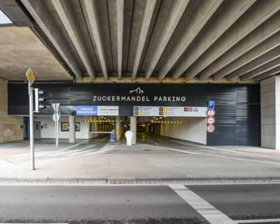 Parkovacie státie v podzemnej garáži, 13 m2, Zuckermandel