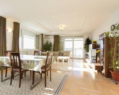Priestranný 3i byt,100m2,čiastočne zariadený, parking, lodžia