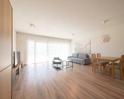 Priestranný, moderný 4i byt, 110m2, lodžia, parkovanie, Koliba