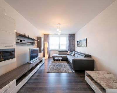 Krásny 5i byt, 115m2, zariadený, loggia, parkovanie