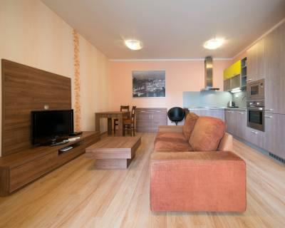 Príjemný, plne zariadený 2 - izbový byt