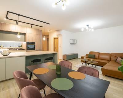 Nádherný 3i byt, 86m2, záhrada 153m2, terasa, parkovanie,Green Village