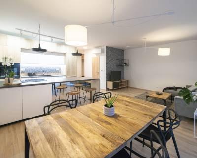 Úžasný 3i byt, 86m2, záhrada 160m2, terasa, parkovanie,Green Village
