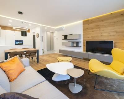 Nadštandardný,dizajnový 2i byt,59m2,balkón,parkovanie, skvelá lokalita