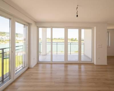 4i byt 94m2, pri jazere v Kittsee, balkón 8m2, parkovacie státie, B4