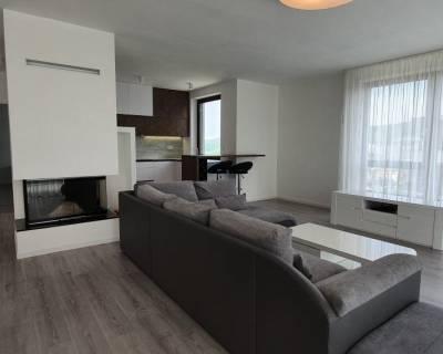 Luxusný 5i byt, 190m2, terasa, balkóny, krb, parkovanie, Mestské Vily