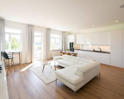 Výnimočný, luxusný 3i byt, 90m2, balkón, zariadený, výhľad na Dunaj