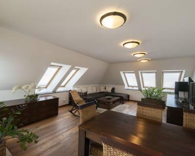 Výnimočný 3i mezonet, 140m2, balkón, parkovanie, Palisády