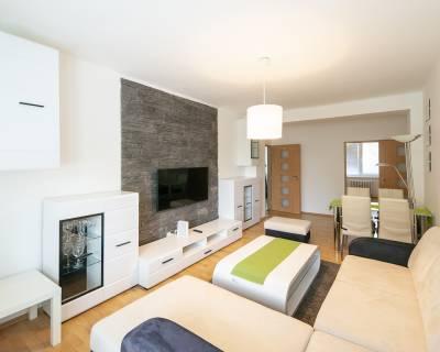 Príjemný 3i byt, 65m2, zariadený, balkón, v peknom prostredí