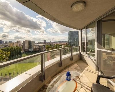 Slnečný 3i byt, 80m2, 13/24p, loggia, 2gar.miesta, Bajkalská, III veže