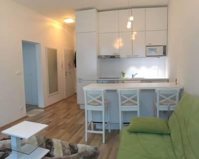 Útulný, pekný 2i byt, 35 m2, zariadený, klimatizácia, pivnica