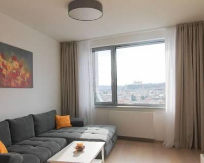 Nový 2i byt, 51 m2, zariadený, lodžia, výnimočný výhľad, Sky Park